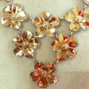 Jewelry - Sterling Silver Flower Necklace